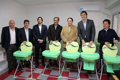 Inauguraron un Jardín Maternal para los trabajadores de UPCN del Hipódromo de La Plata