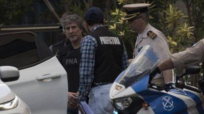 Boudou pasó su primera noche detenido en la cárcel de Ezeiza