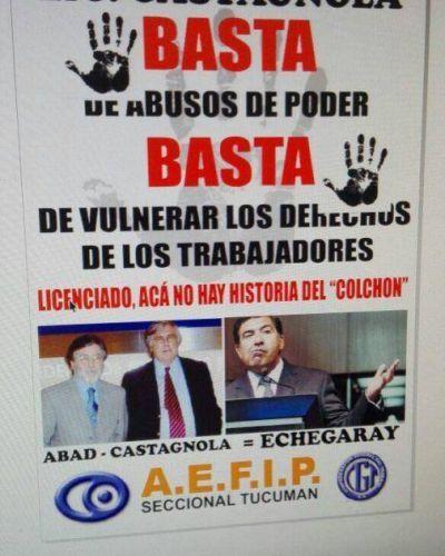 Empleados de AFIP de todo el noroeste en Estado de Alerta