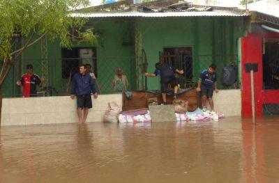 Intendentes y la Provincia afirman que falta dinero para obras contra las inundaciones