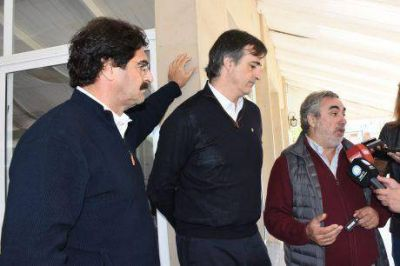 """Esteban Bullrich, electo Senador Nacional, en Trenque Lauquen: """"hasta que se salde, vamos a seguir hablando de la deuda con Buenos Aires"""""""