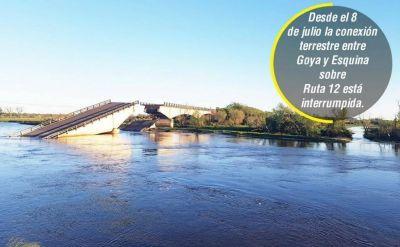 Abren ofertas para reconstruir el puente caído sobre arroyo Guazú