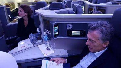 Mauricio Macri llega a New York y rinde tributo a los cinco argentinos muertos en un acto terrorista