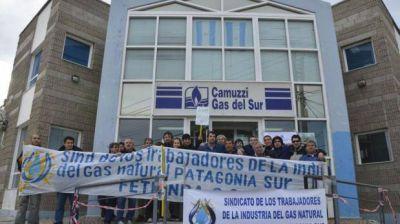 Nuevo paro de actividades en Camuzzi