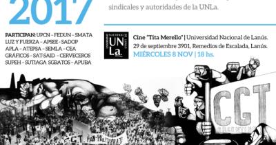 Formación Sindical en Universidad de Lanús