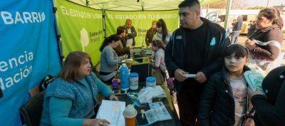Lanús: El estado en tu barrio vuelve a Monte Chingolo