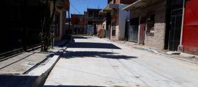 Avellaneda: Trabajos de pavimentación, nuevas luces y arreglos en instituciones sociales