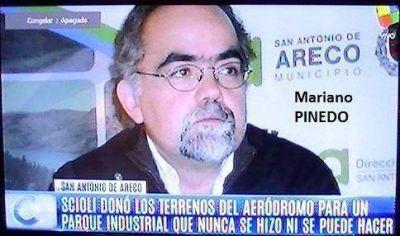 Mariano Pinedo sigue haciendo de las suyas