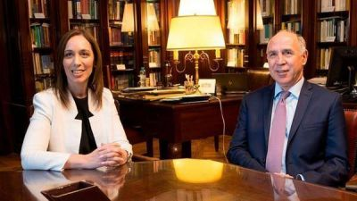 María Eugenia Vidal se reunió con Ricardo Lorenzetti: