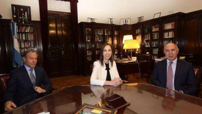 En medio de la tensión por el reclamo del Fondo del Conurbano, Ricardo Lorenzetti recibió a María Eugenia Vidal