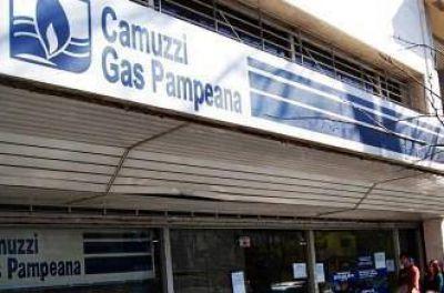 Paran empleados de Camuzzi y los municipales de Santa Rosa