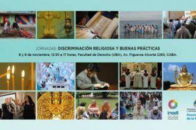Jornadas en Buenos Aires: Discriminación Religiosa y Buenas Prácticas para su prevención