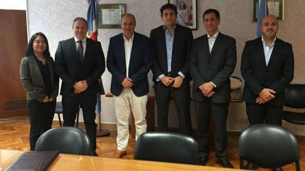 Abruzzese mantuvo un encuentro con representantes de la UNOPS
