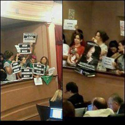 El tema del aborto estuvo presente en la sesión de la Cámara de Diputados
