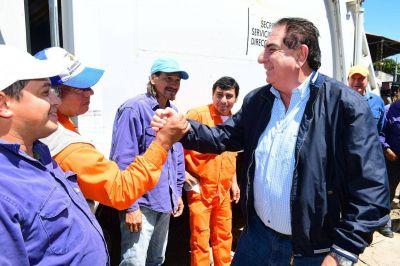 Saludo del Intendente Jorge Jofré por el día del Trabajador Municipal