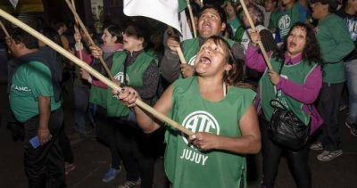 """ATE va a otra jornada nacional de lucha """"contra el ajuste"""""""