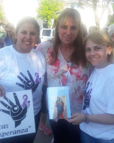 Misionaron donando pelo para hacer pelucas a mujeres con tratamiento oncológicos