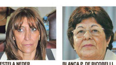 Estela Neder reemplaza a Herrera en Diputados y Porcel de Ricobelli a Zamora en el Senado