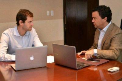 Hacienda y Finanzas: Gomeza y Estrada trabajan en la transición del ministerio