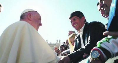 """Bendición papal para dos """"enemigos"""" declarados del Gobierno macrista"""