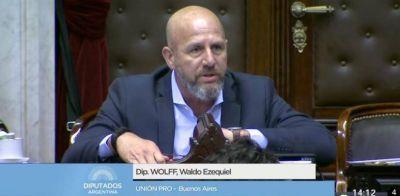 """Waldo Wolff: """"No le voy a permitir a Leopoldo Moreau que extranjerice al judío como se hizo en los peores momentos de la historia"""""""