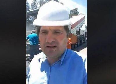 Kubar anunció el inicio de la repavimentacion de la Ruta Provincial N° 7