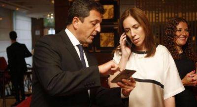 Vidal acordó los votos con Massa y un sector del PJ para aprobar el presupuesto y el endeudamiento