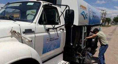 Santoro adquirió importante maquinaria para su distrito