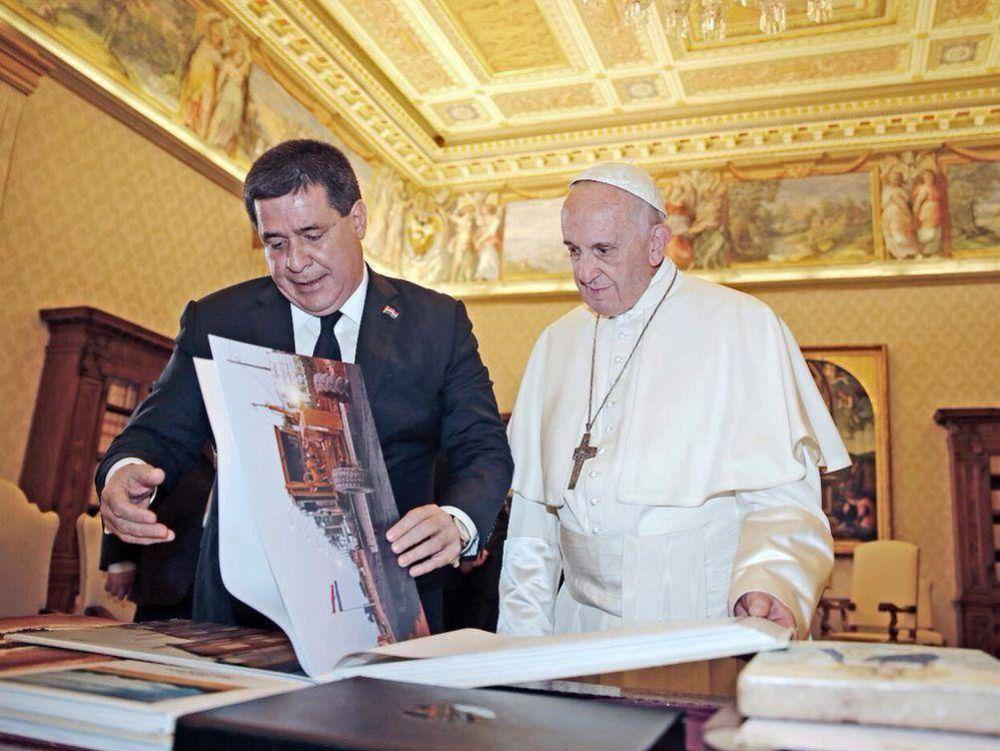 Cartes fue recibido por el Papa Francisco por cuarta vez