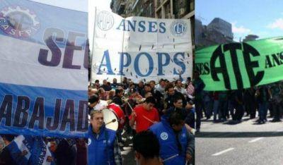 Gremios del ANSES ratifica la unidad contra despidos en el organismo