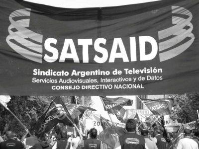 """Sebastián Struciat, del Satsaid: """"Preparan a la opinión pública para generar despidos injustificados"""""""