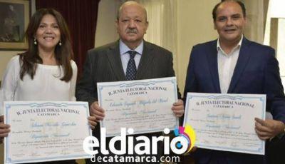 La justicia Federal proclamó a los diputados nacionales por Catamarca