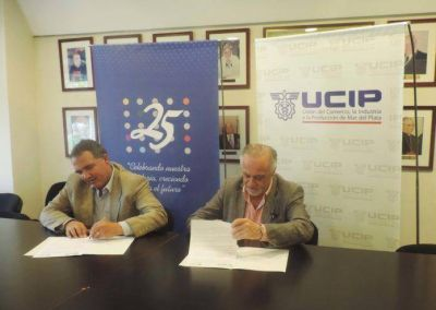 UCIP y la Universidad FASTA desarrollarán el programa Mar de Beneficios