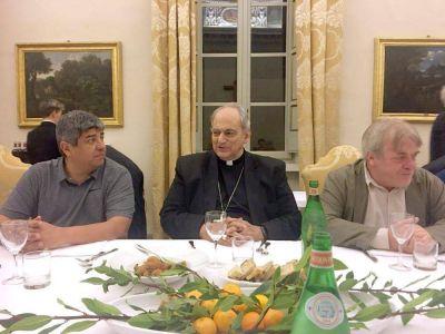Pablo Moyano cenó en el Vaticano