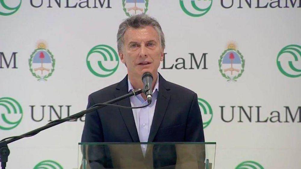 """Macri desembarcó en pleno corazón K y pidió """"cuidar los recursos"""""""