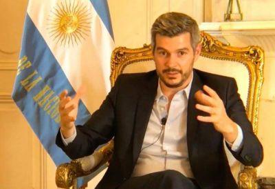 """Marcos Peña: """"El presidente tiene un nivel de seguimiento que no tuvo ningún presidente antes"""""""