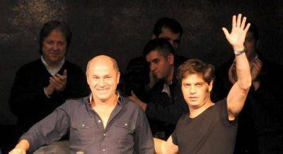 Kicillof y Rossi libran una dura interna por la presidencia del bloque kirchnerista