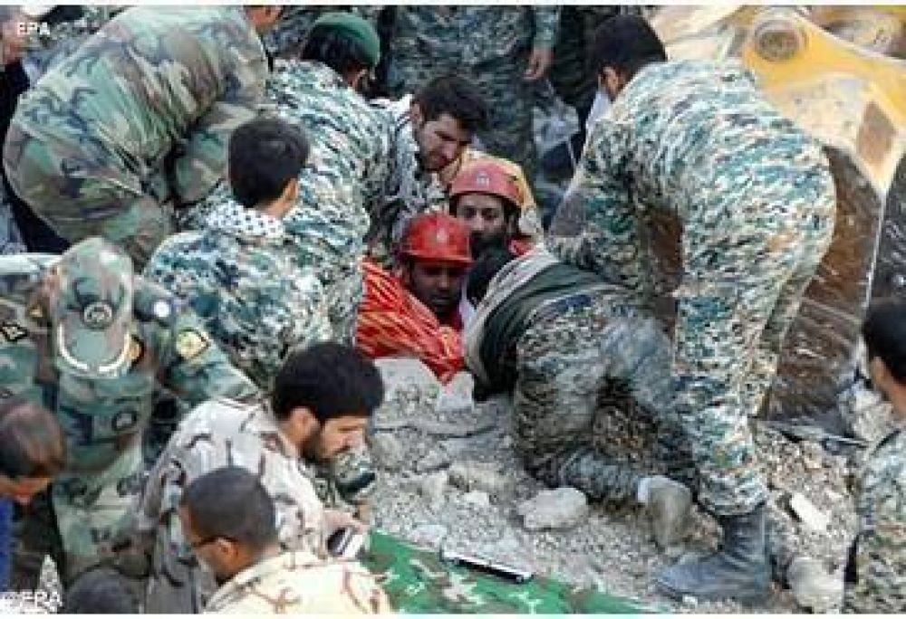 Terremoto Irak e Irán. El Papa: «Profunda tristeza»