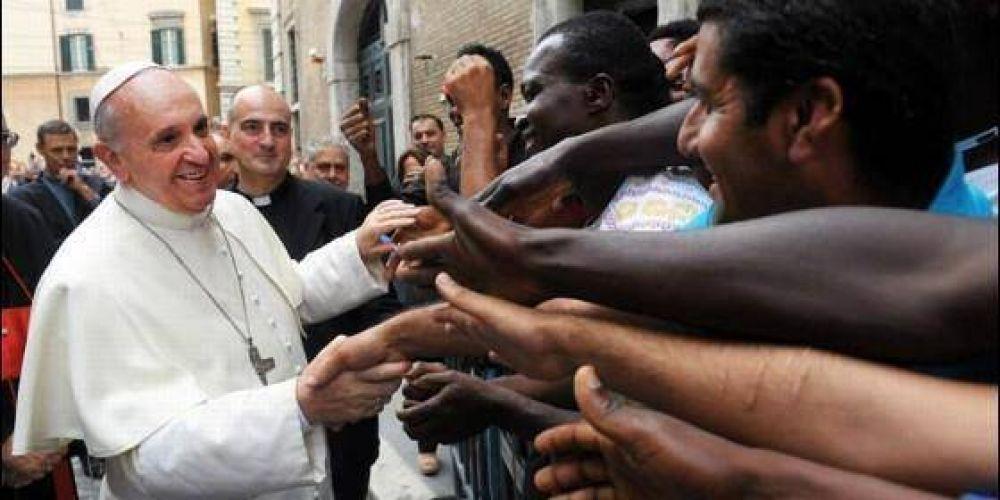 Francisco almorzará este domingo en el Vaticano con 1.500 personas en situación de pobreza