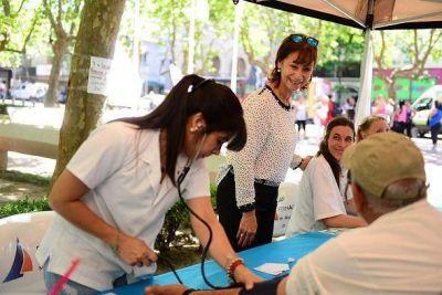San Fernando sostuvo una jornada de prevención en el Día Internacional de la Diabetes