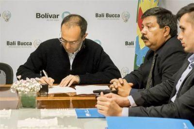 El municipio firmó un convenio por trámites para motos