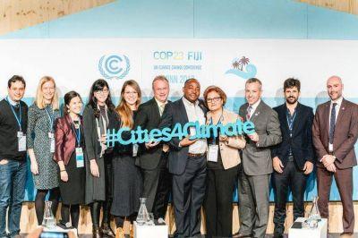 Larreta se comprometió en Bonn, a combatir el cambio climático