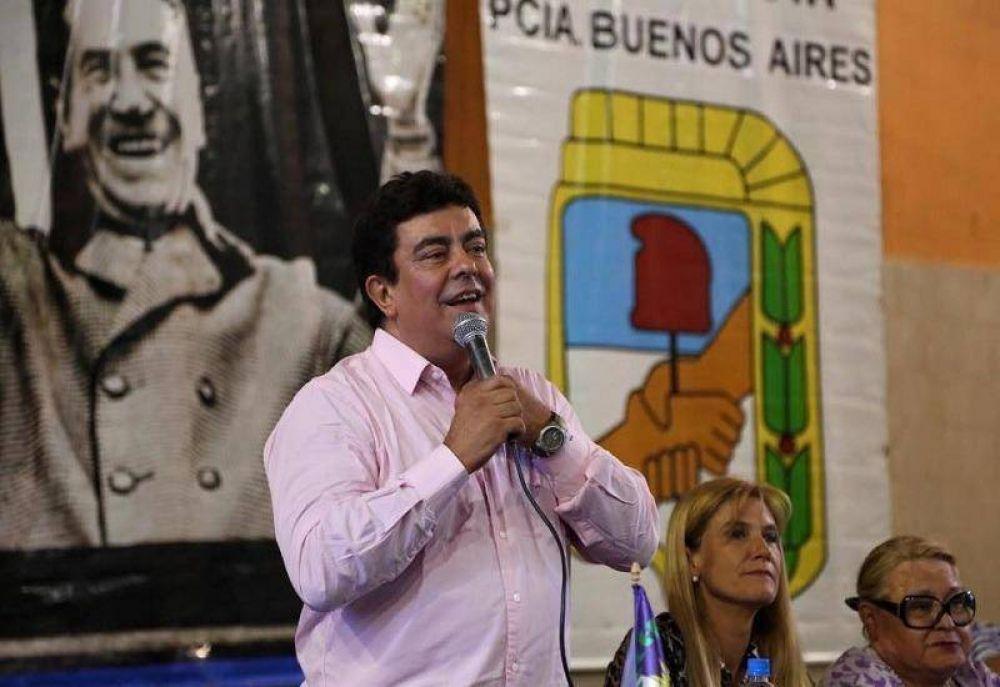 Espinoza encabezó una cumbre con intendentes del PJ