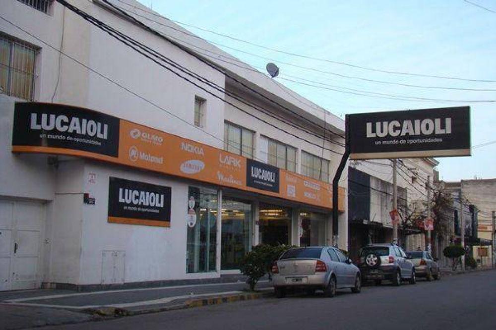 Despidieron 60 trabajadores y empleados de comercio de la firma Lucaioli
