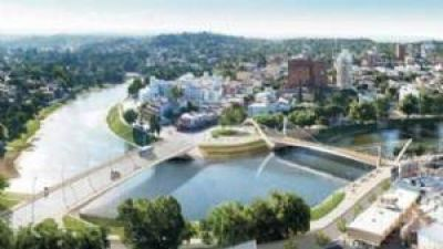 El 4 de diciembre comenzará la obra del nuevo puente céntrico peatonal
