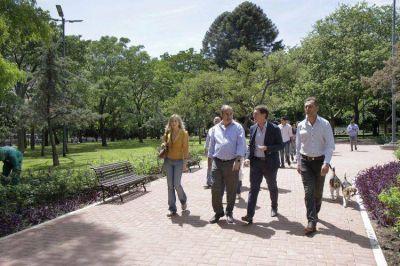 Cómo son las obras del renovado Parque Las Heras