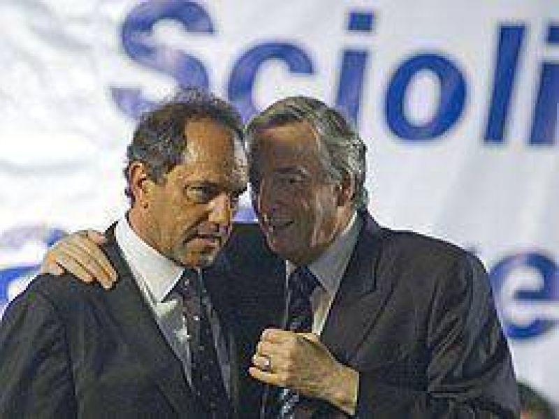 Confirman que Scioli irá por la reelección en Provincia