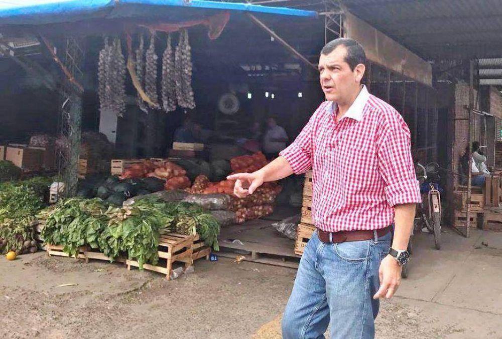 Olivera insistió en trasladar al mercado frutihorticola y convertirlo en mayorista