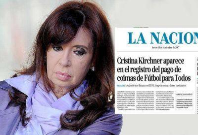 La respuesta de Cristina Kirchner a la tapa del diario La Nación
