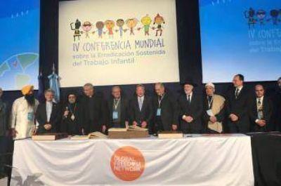Líderes religiosos de Argentina firmaron una declaración en contra de la esclavitud humana